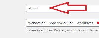 Seitentitel in WordPress ändern